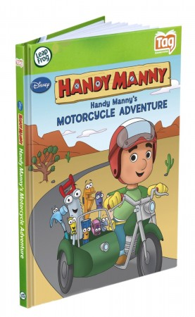 LeapReader Tag Handy Manny Book-front
