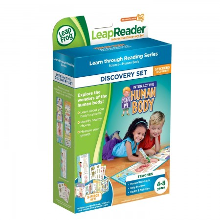 LeapFrog LeapReader Interactive Human Body Pack
