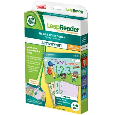 LeapReader Book Learn to Write Numbers and Early Mathematics