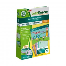LeapReader Book Learn to Write Letters with Mr. Pencil