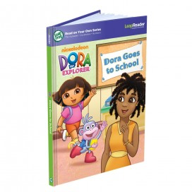 LeapReader Dora the Explorer: Dora Goes to School Activity Storybook