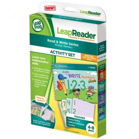 LeapReader Book Learn to Write Numbers with Mr. Pencil