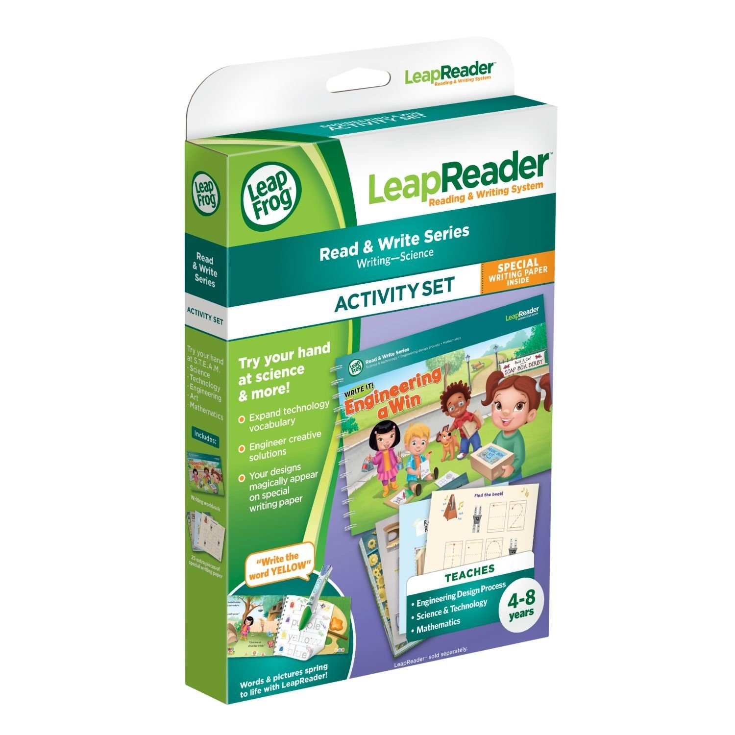 LeapReader Book Write It! Engineering a Win