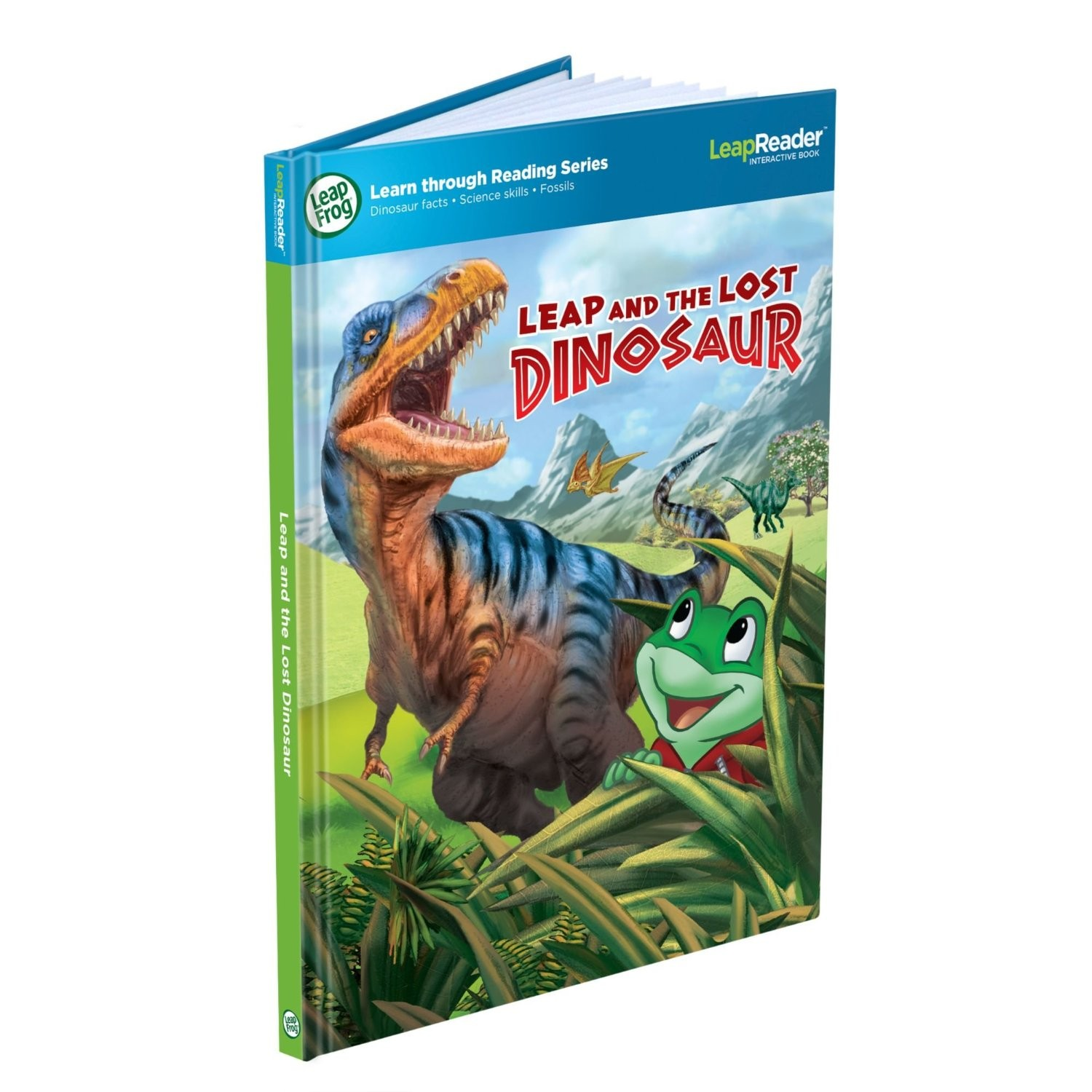 LeapReader Leap and the Lost Dinosaur Book